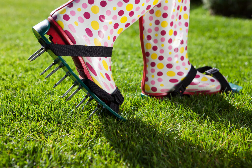 Aerate Your Lawn In Winter | Mansell Landscape Management