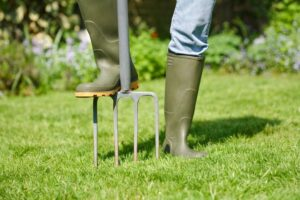 Aerate Your Yard | Mansell Landscape Management