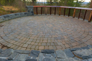 Hardscape Design In Winter | Mansell Landscape