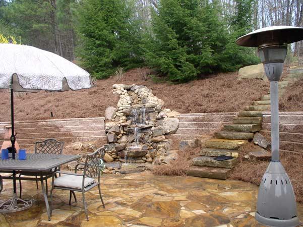 Hardscape Design & Installation Image: waterfall_stone.jpg
